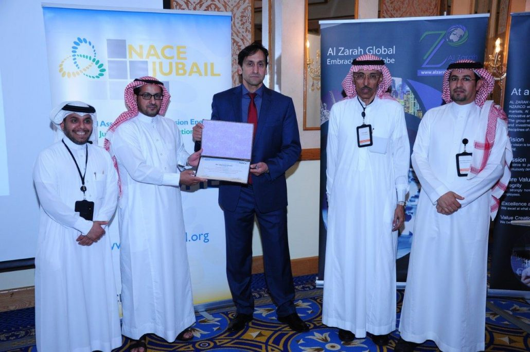 IRTS SPONSORS NACE JUBAIL SECTION 41 TECHNICAL MEETING ...